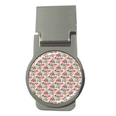 Cute Floral 218a Money Clips (round)  by MoreColorsinLife