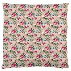 Cute Floral 218a Large Cushion Case (one Side) by MoreColorsinLife