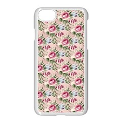 Cute Floral 218a Apple Iphone 8 Seamless Case (white) by MoreColorsinLife