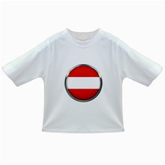 Austria Country Nation Flag Infant/toddler T Shirts