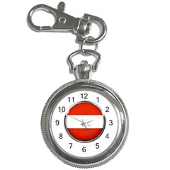 Austria Country Nation Flag Key Chain Watches by Nexatart