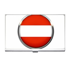 Austria Country Nation Flag Business Card Holders