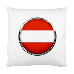 Austria Country Nation Flag Standard Cushion Case (one Side)