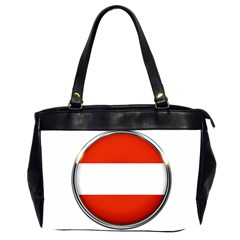 Austria Country Nation Flag Office Handbags (2 Sides)