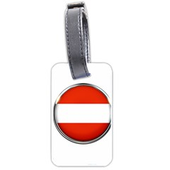 Austria Country Nation Flag Luggage Tags (two Sides)