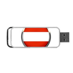 Austria Country Nation Flag Portable Usb Flash (two Sides)