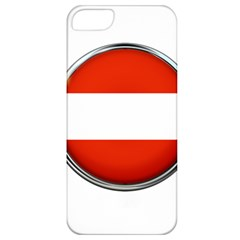Austria Country Nation Flag Apple Iphone 5 Classic Hardshell Case