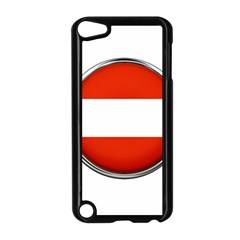 Austria Country Nation Flag Apple Ipod Touch 5 Case (black)