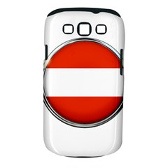 Austria Country Nation Flag Samsung Galaxy S Iii Classic Hardshell Case (pc+silicone)