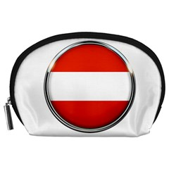 Austria Country Nation Flag Accessory Pouches (large)
