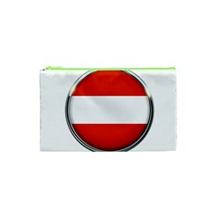 Austria Country Nation Flag Cosmetic Bag (xs) by Nexatart