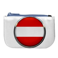 Austria Country Nation Flag Large Coin Purse