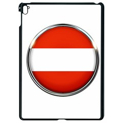 Austria Country Nation Flag Apple Ipad Pro 9 7   Black Seamless Case by Nexatart