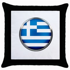 Greece Greek Europe Athens Throw Pillow Case (black) by Nexatart