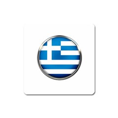 Greece Greek Europe Athens Square Magnet