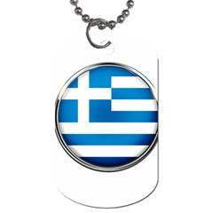 Greece Greek Europe Athens Dog Tag (two Sides)
