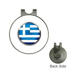 Greece Greek Europe Athens Hat Clips With Golf Markers