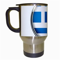 Greece Greek Europe Athens Travel Mugs (white)