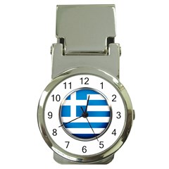 Greece Greek Europe Athens Money Clip Watches
