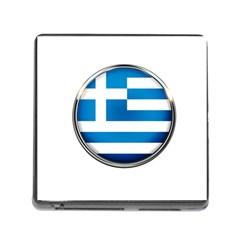 Greece Greek Europe Athens Memory Card Reader (square)