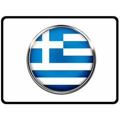 Greece Greek Europe Athens Fleece Blanket (large)