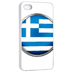 Greece Greek Europe Athens Apple Iphone 4/4s Seamless Case (white)