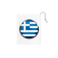 Greece Greek Europe Athens Drawstring Pouches (xs)