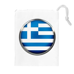 Greece Greek Europe Athens Drawstring Pouches (extra Large)