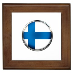 Finland Country Flag Countries Framed Tiles