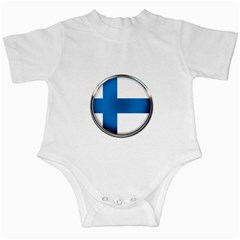 Finland Country Flag Countries Infant Creepers