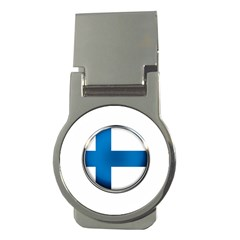 Finland Country Flag Countries Money Clips (round)