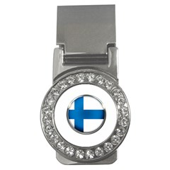 Finland Country Flag Countries Money Clips (cz)