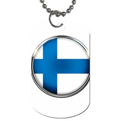 Finland Country Flag Countries Dog Tag (two Sides)