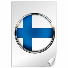 Finland Country Flag Countries Canvas 12  X 18