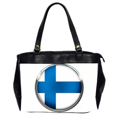 Finland Country Flag Countries Office Handbags (2 Sides)