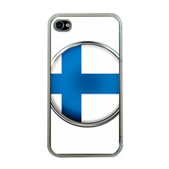 Finland Country Flag Countries Apple Iphone 4 Case (clear)