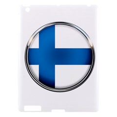 Finland Country Flag Countries Apple Ipad 3/4 Hardshell Case