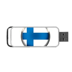 Finland Country Flag Countries Portable Usb Flash (one Side)