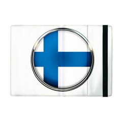Finland Country Flag Countries Apple Ipad Mini Flip Case