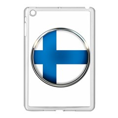 Finland Country Flag Countries Apple Ipad Mini Case (white)