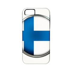 Finland Country Flag Countries Apple Iphone 5 Classic Hardshell Case (pc+silicone)