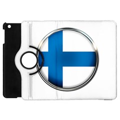 Finland Country Flag Countries Apple Ipad Mini Flip 360 Case