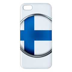 Finland Country Flag Countries Apple Iphone 5 Premium Hardshell Case