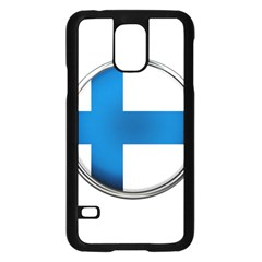 Finland Country Flag Countries Samsung Galaxy S5 Case (black)