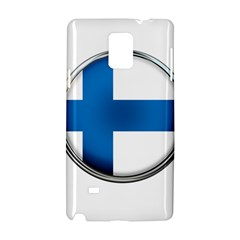 Finland Country Flag Countries Samsung Galaxy Note 4 Hardshell Case