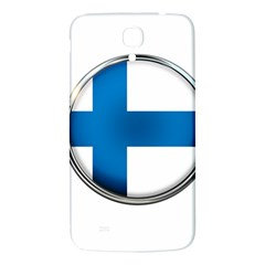Finland Country Flag Countries Samsung Galaxy Mega I9200 Hardshell Back Case