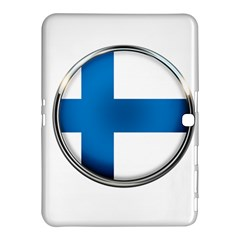 Finland Country Flag Countries Samsung Galaxy Tab 4 (10 1 ) Hardshell Case