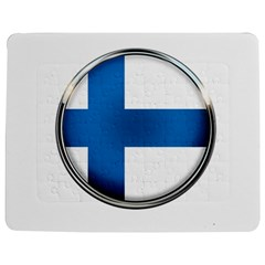 Finland Country Flag Countries Jigsaw Puzzle Photo Stand (rectangular)