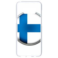Finland Country Flag Countries Samsung Galaxy S8 White Seamless Case