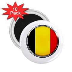 Belgium Flag Country Brussels 2 25  Magnets (10 Pack)